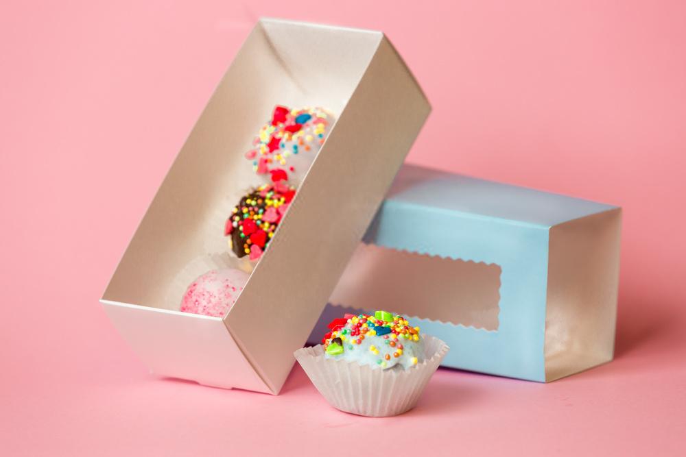 Box-Drawer Cupcake Window Boxes