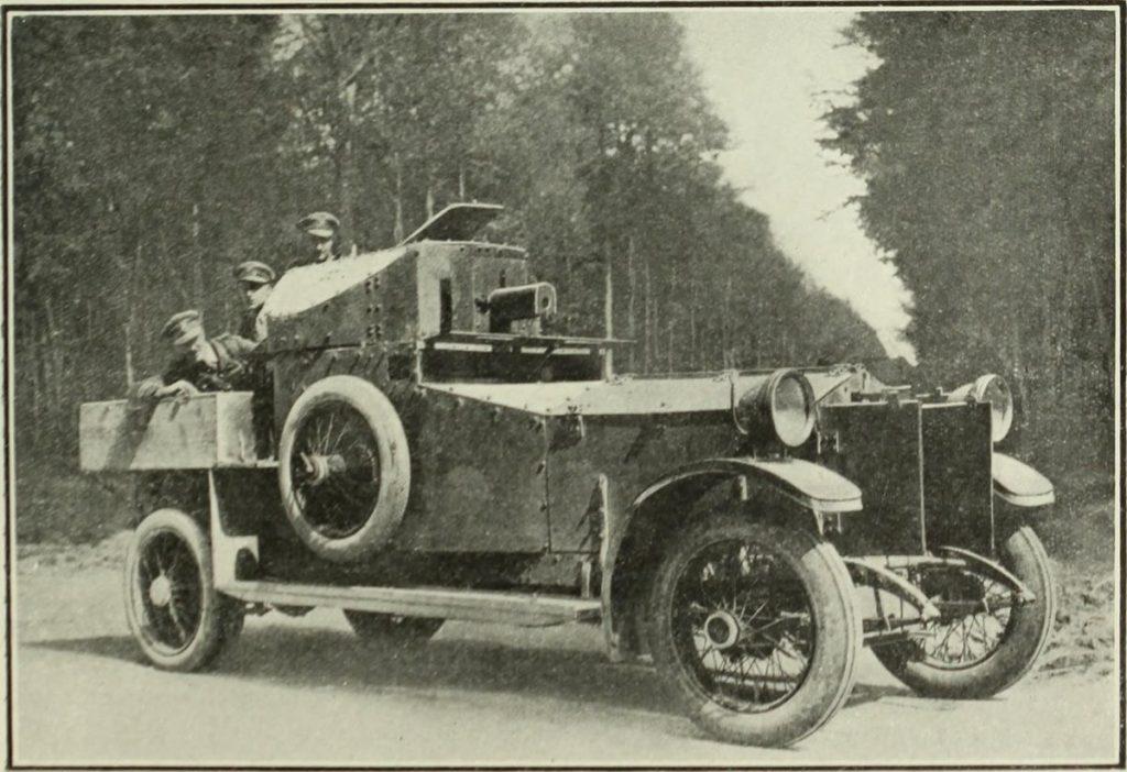 Rolls Royce Used In First World War