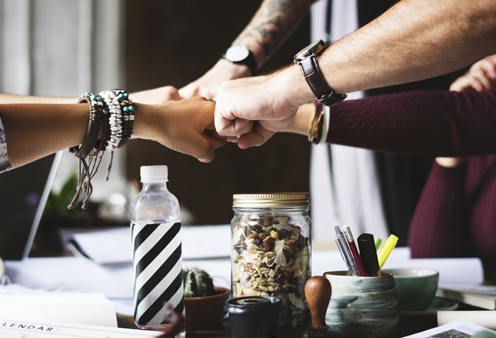 business startup team