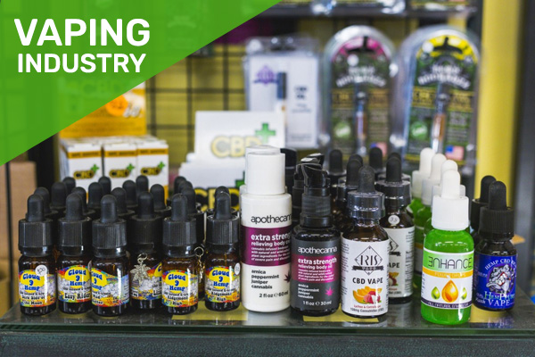 wholesale vaping order management