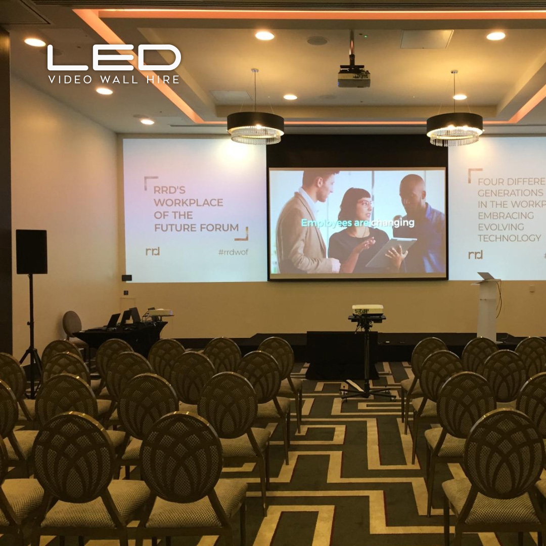 LED video wall hire london