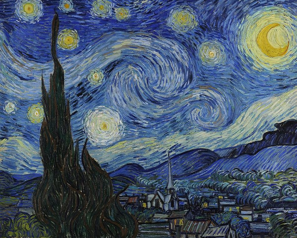 Vincent Van Gogh' The Starry Night