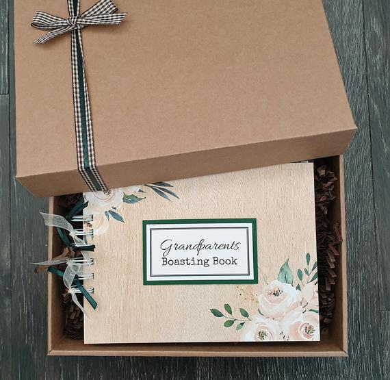 Scrapbook gift for Grandparents
