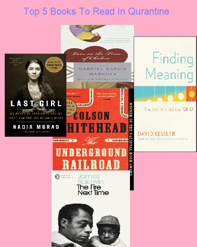 top 5 books quartine