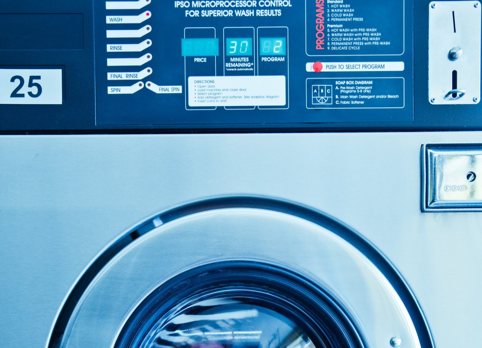 cleaning of washing machine