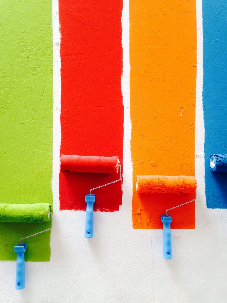 color of paint for home decoration