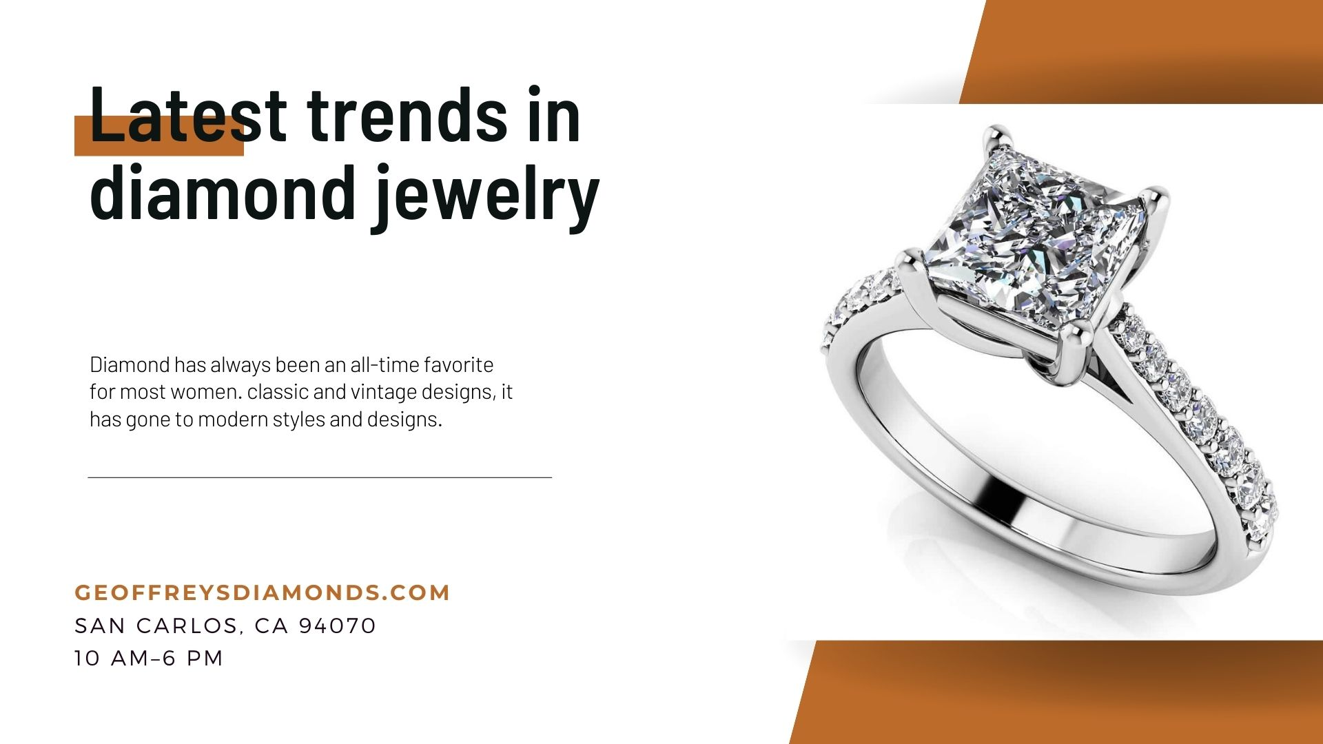 Latest Trends In Diamond Jewelry That You Must Know
