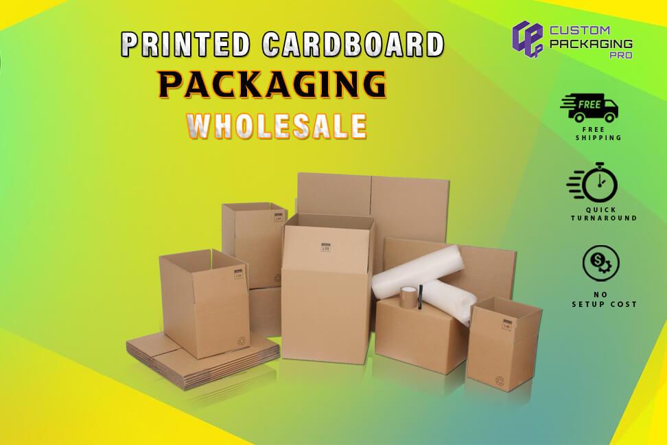 Printed Cardboard Packaging wholesale