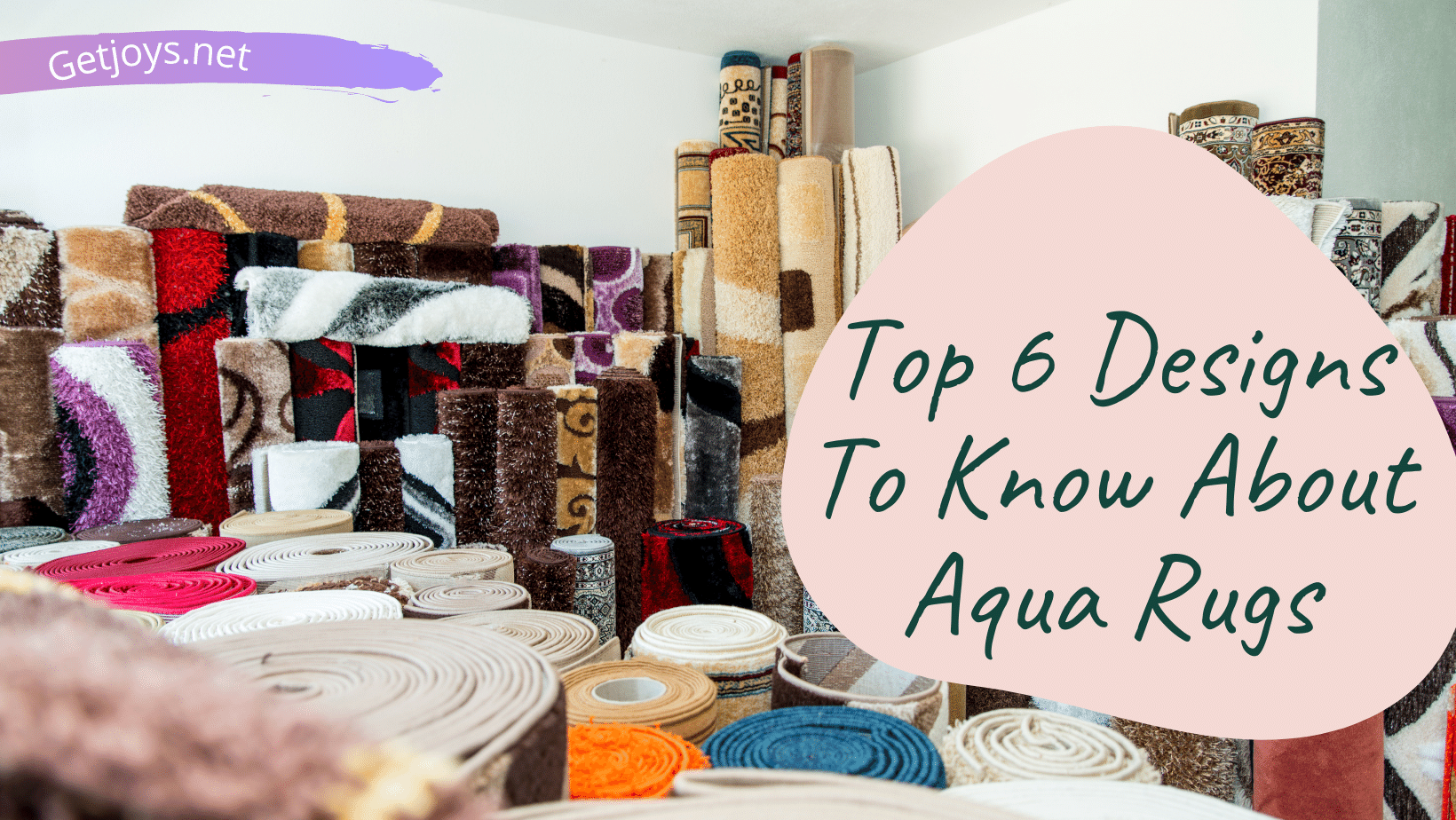 Top 6 Designs to Know About Aqua Rugs