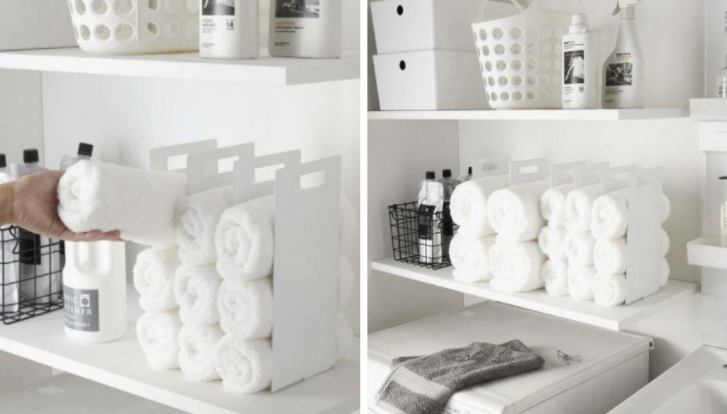 towel organizer