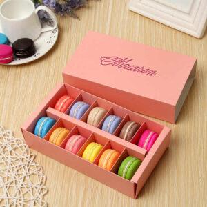 personalised macaron boxes