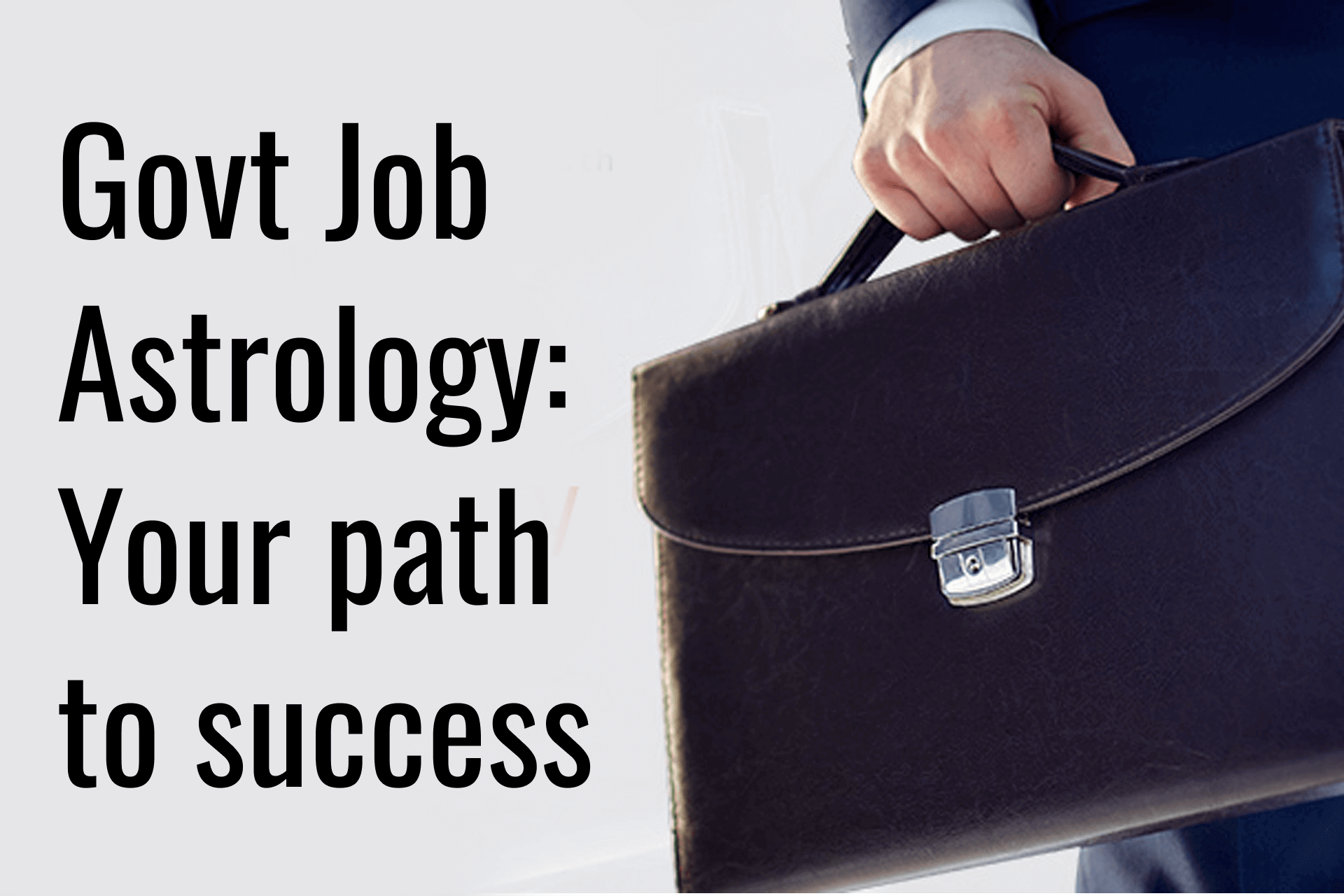 Govt Job Astrology: Your Path To Success