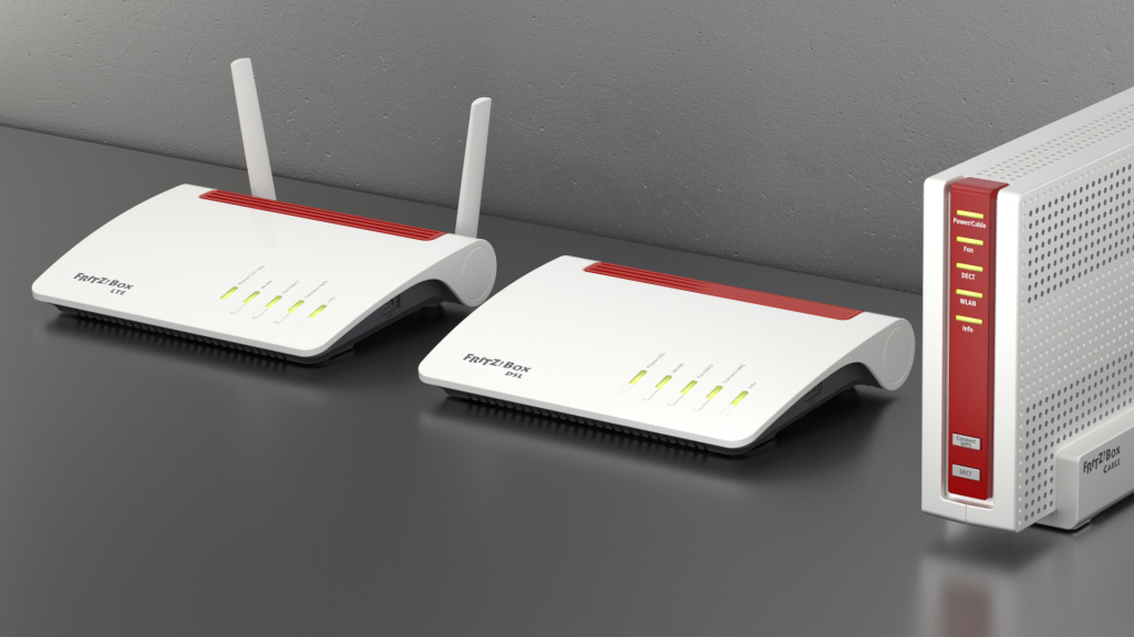 Fritzbox WiFi device